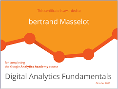 Digital Analytics Fundamentals Bertrand Masselot