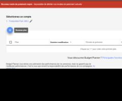 budget planner référencement Google ADsSEA