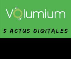 actus vidéo volumium - seo - sea - analytics - social ads